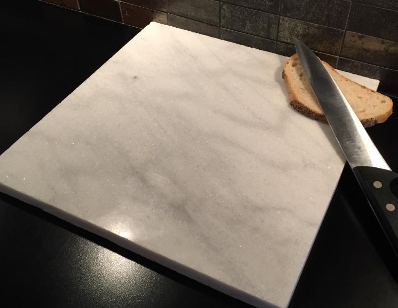 Fabelaktig Bakeplate/skjærebrett i Carrara marmor - Marmor og naturstein JZ-82